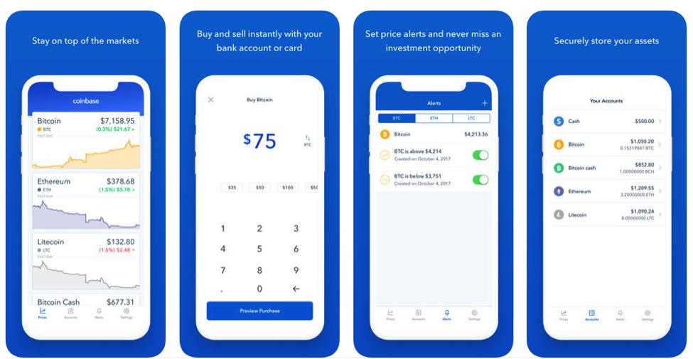 coinbase app
