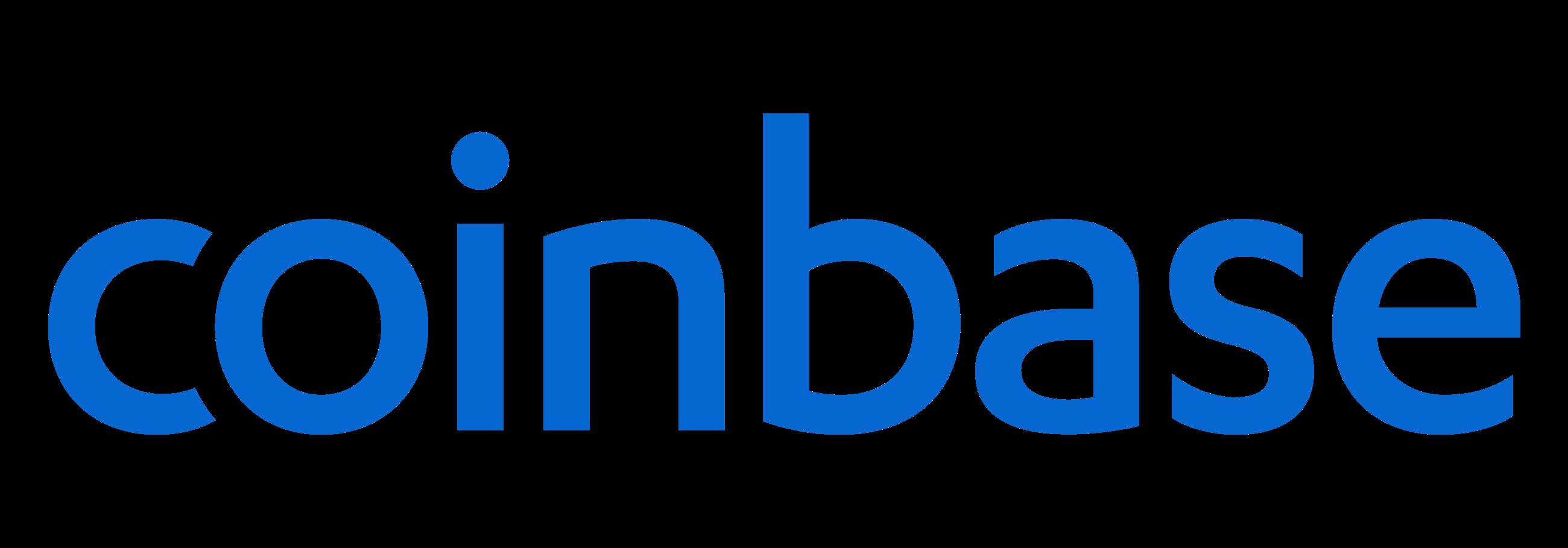 Coinbase blue logo
